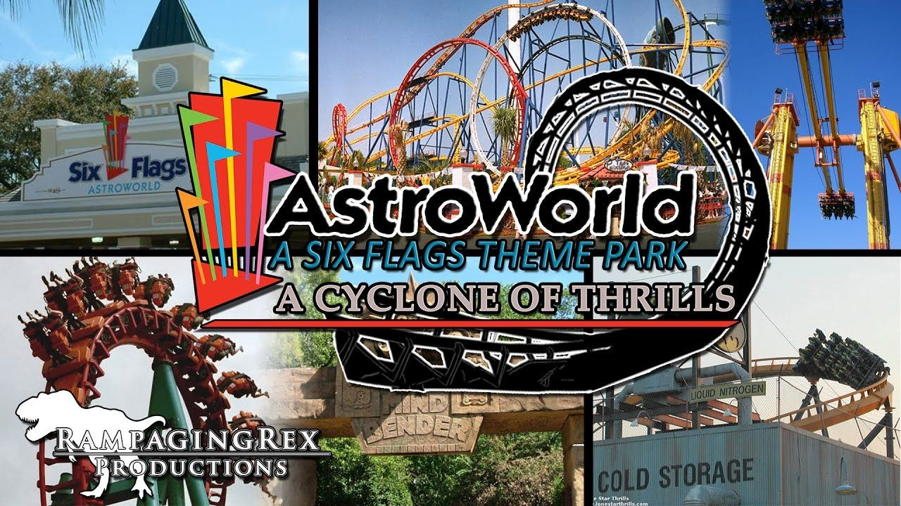 Six Flags Astroworld A Cyclone Of Thrills Part 2 Abandoned Theme Parks Six Flags Theme Park