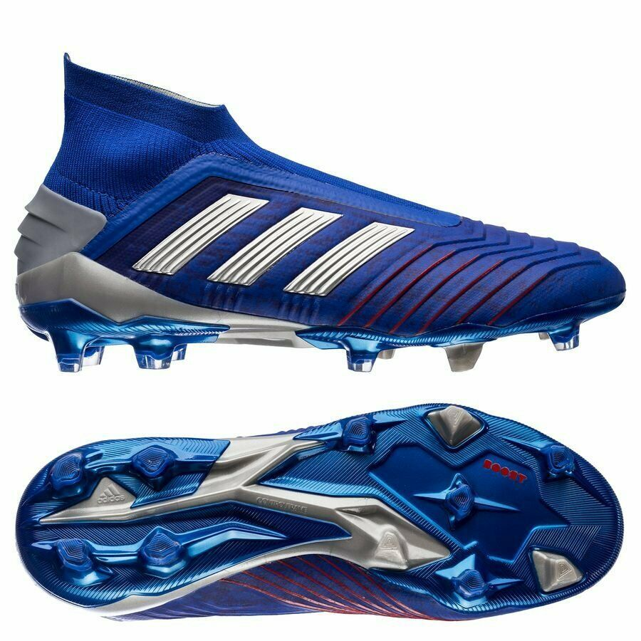 Advertisement(eBay) ADIDAS PREDATOR 19+ FG CLEATS BLUE ...