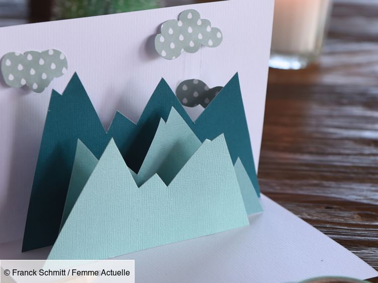 Cartes de Noël à faire soi même : une carte pop up | Cartes de