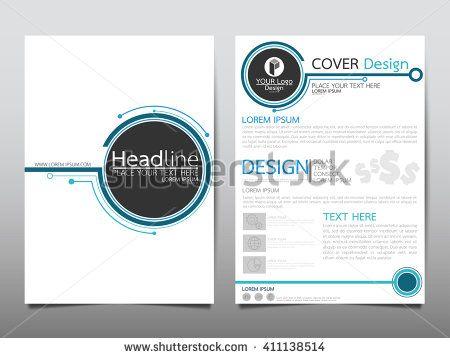 Blue Circle Technology Annual Report Brochure Flyer Design