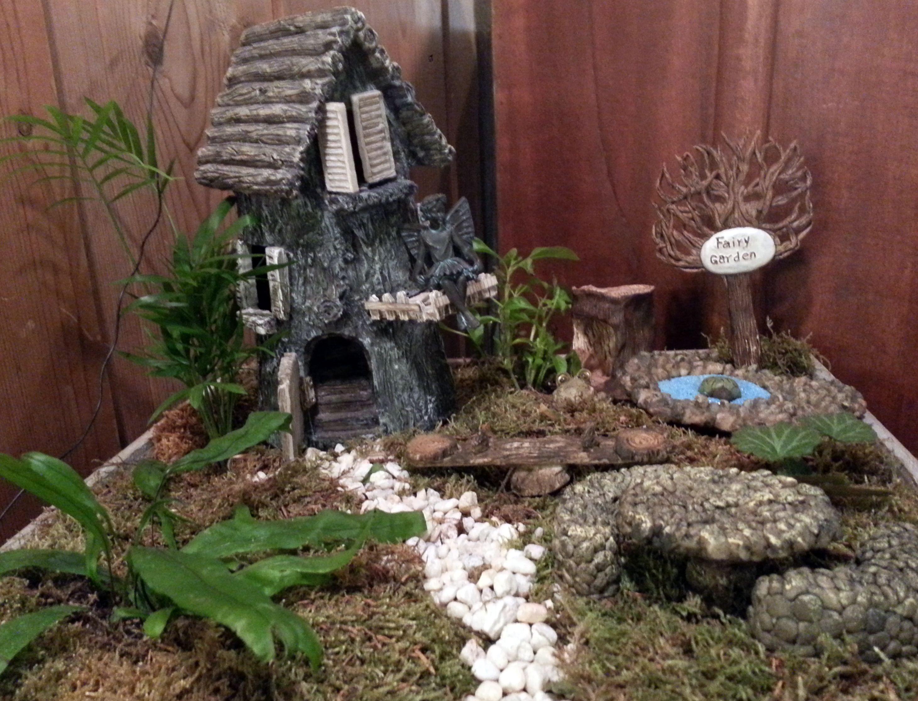 Fairy Garden Warm glow candles, Garden supplies, Candle