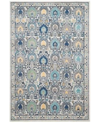 Safavieh Evoke Ivory And Gray 10 X 14 Area Rug Ivorycream In