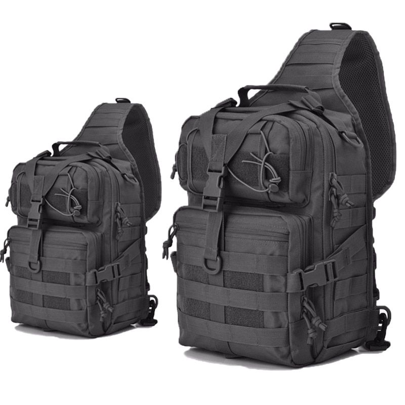 20L Waterproof Military Sling Backpack Army Tactical Shoulder Bag Camping Hiking