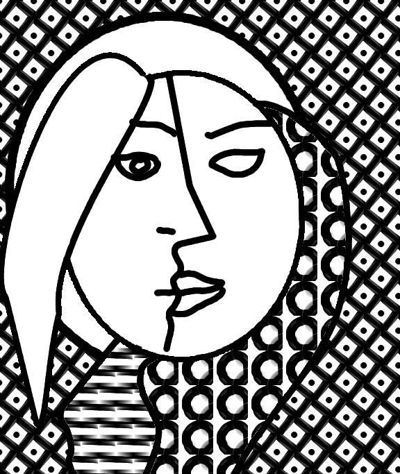 Preschoolers Free Coloring Pages Of Picasso Cubism Picasso