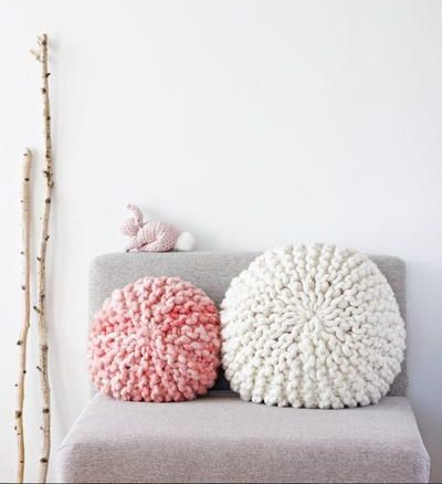 Buying pillow covers is a thing of the past when you can just as easily knit up a beautiful Basket Weave Pillow of your own. The basket weave design on these DIY pillow covers is achieved through a simple combination of knits and purls.