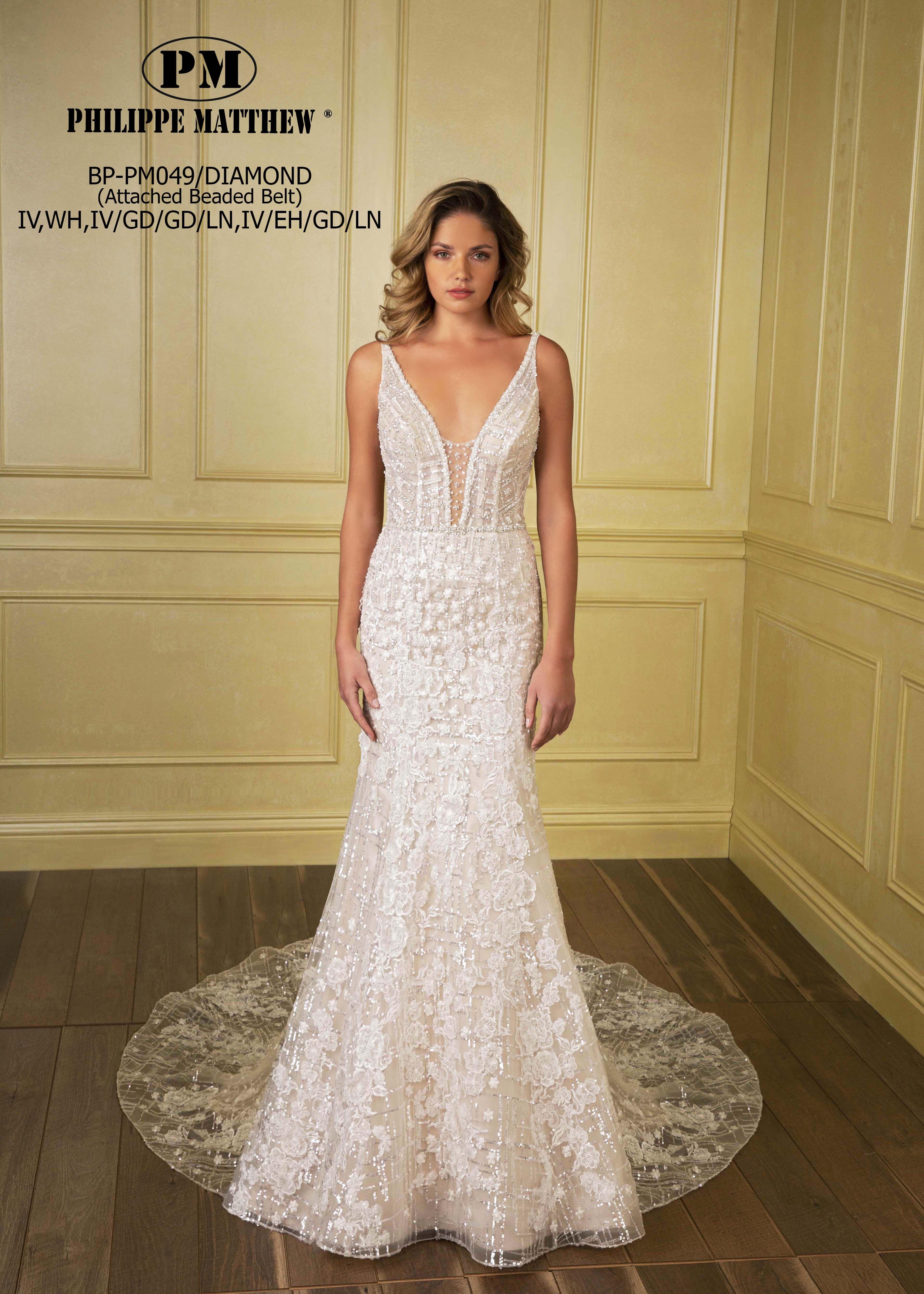 DIAMOND from PHILIPPE MATTHEW Wedding dresses lace
