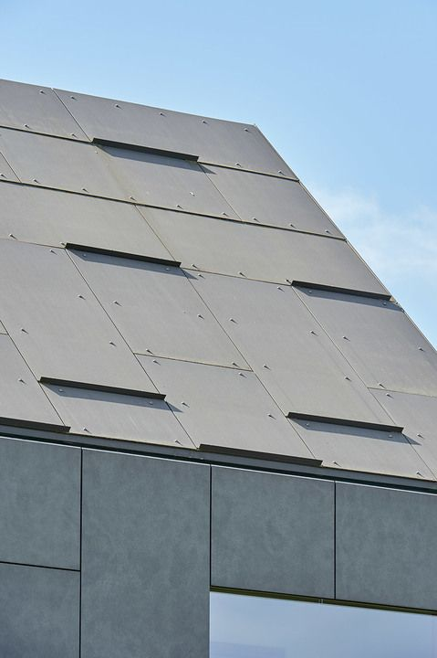 Swisspearl Fiber Cement Roof Panels From Swisspearl Swisspearl Cement Panels Roof Panels