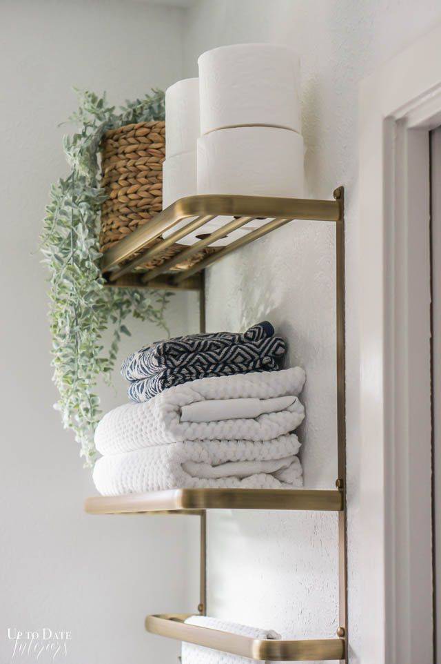 How to Makeover a Small Bathroom on a Budget   Up to Date Interiors