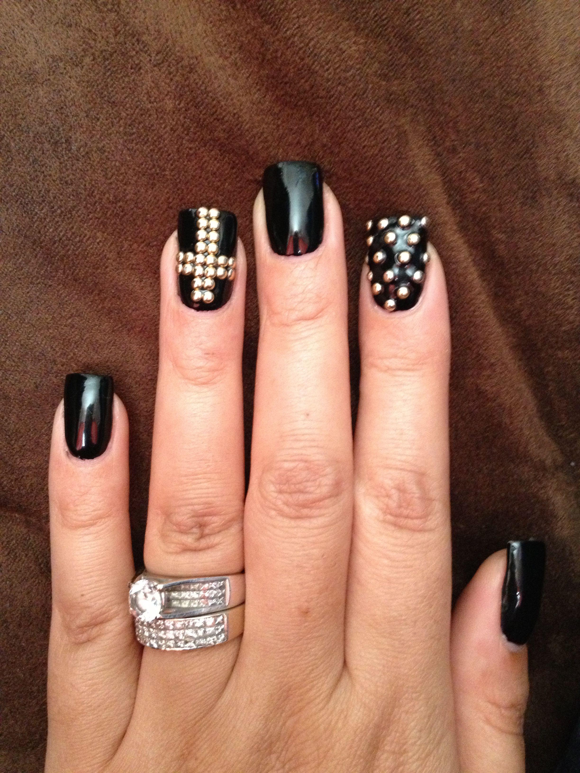 Gothic Nail Designs Nail Art Pinterest Gothic Nails Mani Pedi