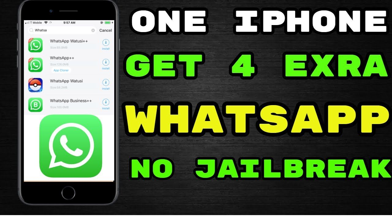Whatsapp Download How To Get Exra 4 Whatsapp One Iphone
