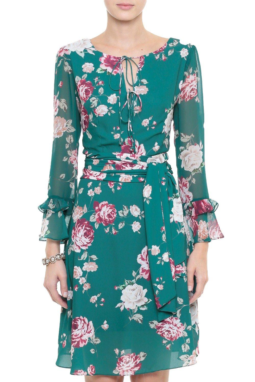 3b408723c Vestido Crepe Floral Audrey | Me gusta. | Vestidos para senhoras ...