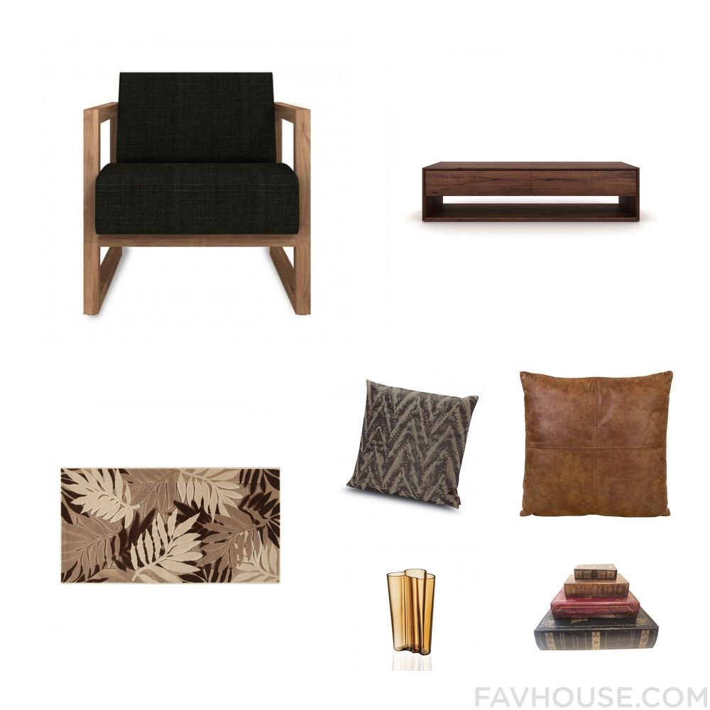 Decorating list including accent chair door shelf rug and missoni