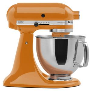 tangerine.... oh to own a kitchen aid mixer... my life would be much easier in the baking area. :)