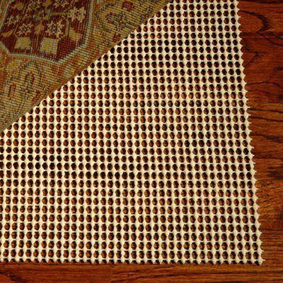 Safavieh PAD110-5 Grid Non-Slip Rug Pad, Creme This grid creme non-slip rug pad from Safavieh comes in a 5-ft x 8-ft size.  Grid Non-Slip Rug Pad, Creme…