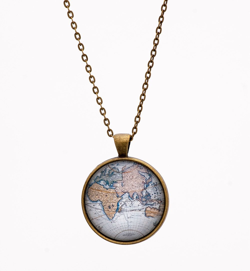 World map necklace globe necklace atlas necklace adventure world map necklace globe necklace atlas necklace adventure necklace blue necklace gumiabroncs Image collections