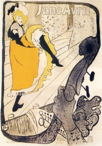Divan Japonais Theater Show Toulouse Lautrec French Vintage Poster Repro FREE SH