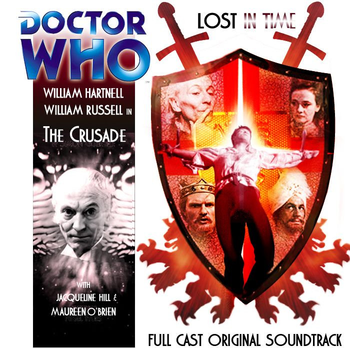 Doctor Who Big Finish Custom Cover The Crusade by