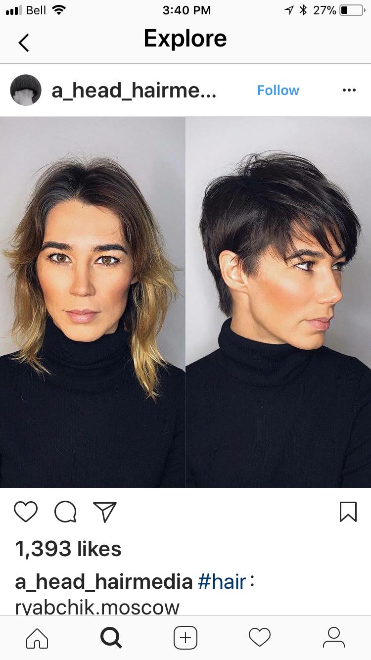 Haare kurze lange haare Was Gefällt