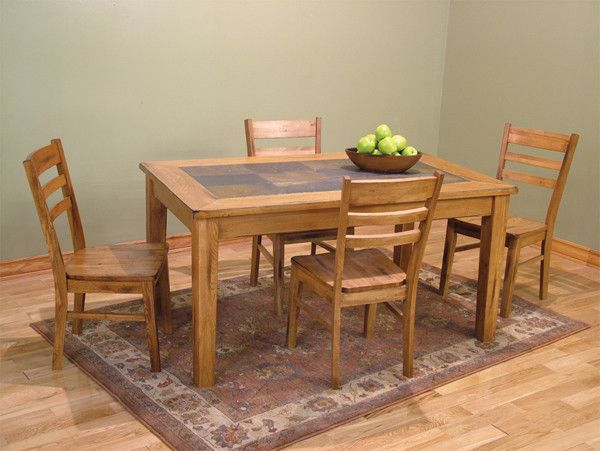 """Sd1170Ro  36"""" X 60"""" Sedona Rustic Oak Rectangular Table With Delectable 36 Dining Room Table 2018"""