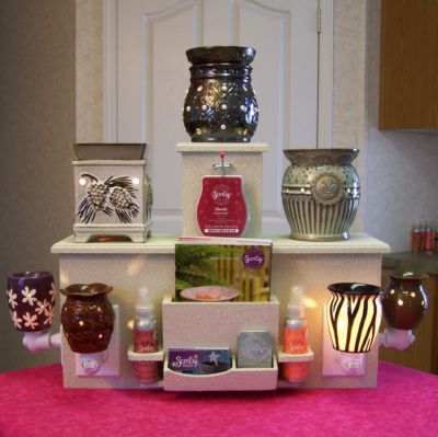 Bold Display Tower For Scentsy Partylite Plug In Warmer