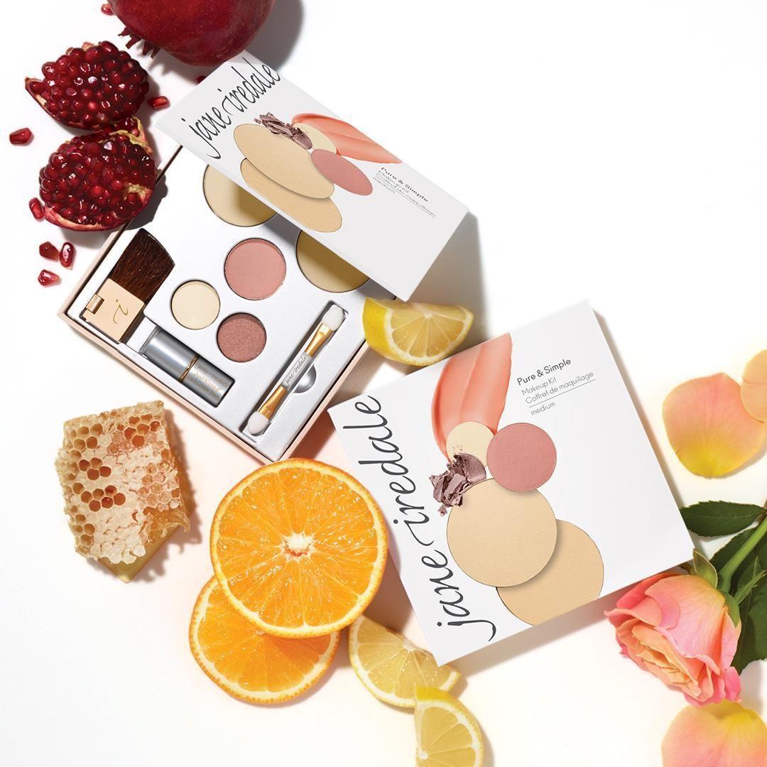 Pure & Simple Makeup Kit in 2020 Minerals makeup, Makeup
