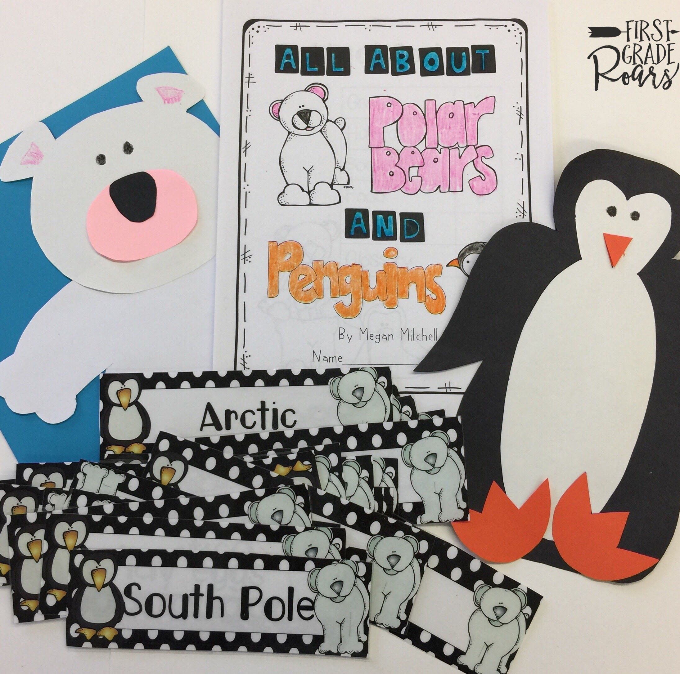 Polar Bears Vs Penguins A Mini Unit On Compare And
