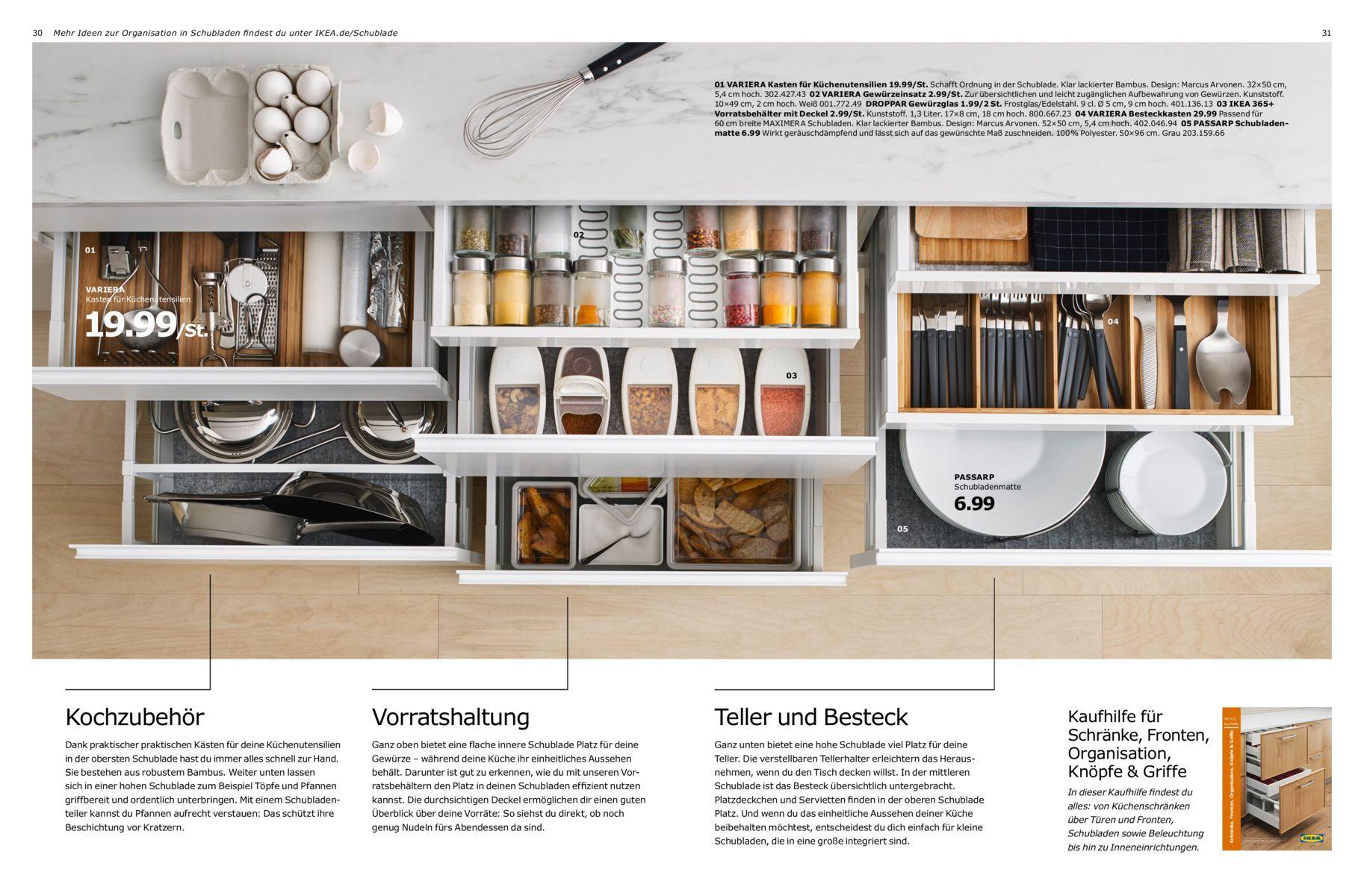Schön Küchenschublade Organisatoren Ideen - Küchen Design Ideen ...