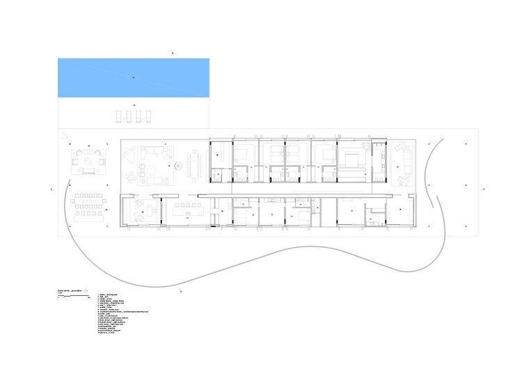 Extensive Dachbegrunung Im Planar House Moderne Architektur Mit