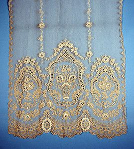 Net & Lace Curtain Panels, c. 1915