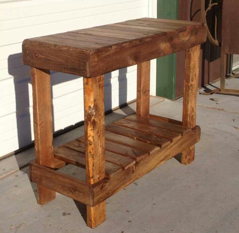 Pallet sofa table teaching pinterest pallet sofa for Sofa table made from pallets