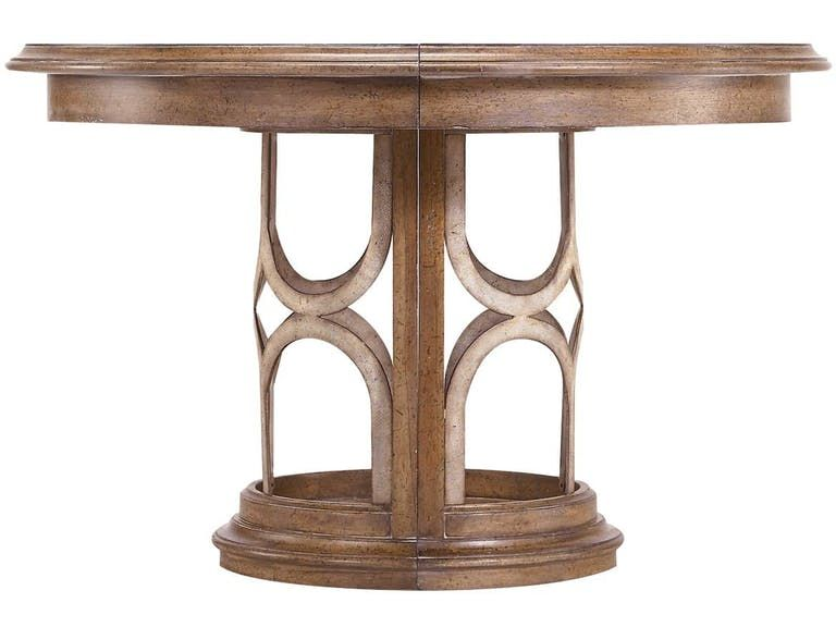Stanley Furniture Monserrat Round Pedestal Table 186-61-30 ...