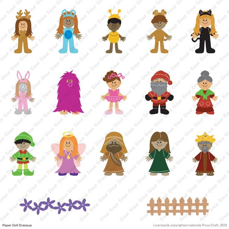 Paper Doll Blanket - the original blanket with outfits ...  |Everyday Paper Dolls Pattern