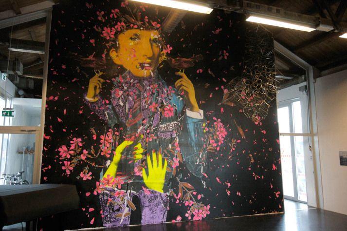 Judith Supine art - NuArt Festival 2009 - Photo Logan Hicks