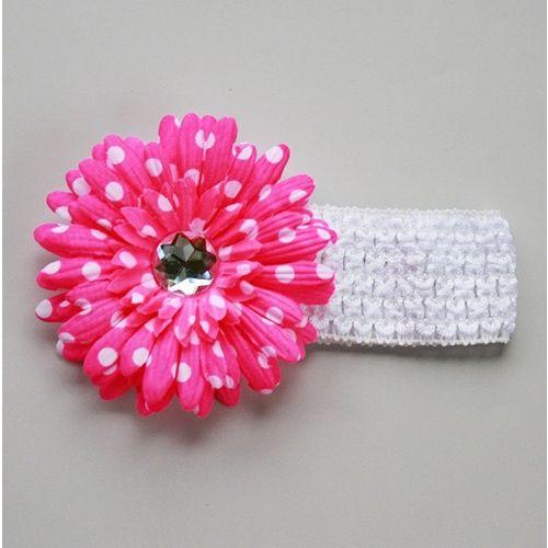 Love the polka dot flower!