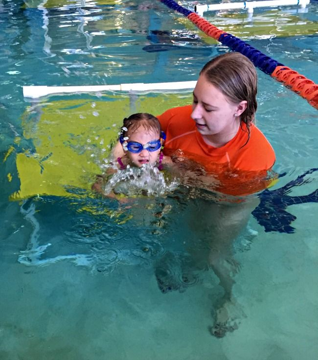 With three kids in swimming lessons you'd think transitioning classes at Goldfish Swim School would be difficult. Here's our story and challenge solutions!