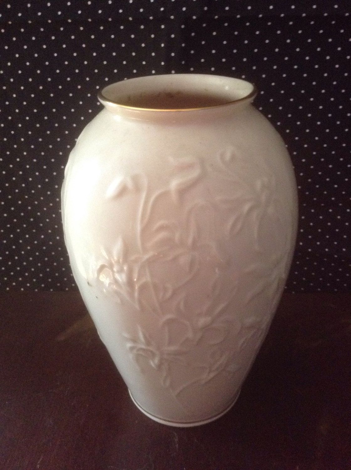A personal favorite from my etsy shop httpsetsylisting this is another vintage lenox vase from my mothers collection it is a beautiful piece to display your flower bouquets this vase is embossed with flowers floridaeventfo Image collections
