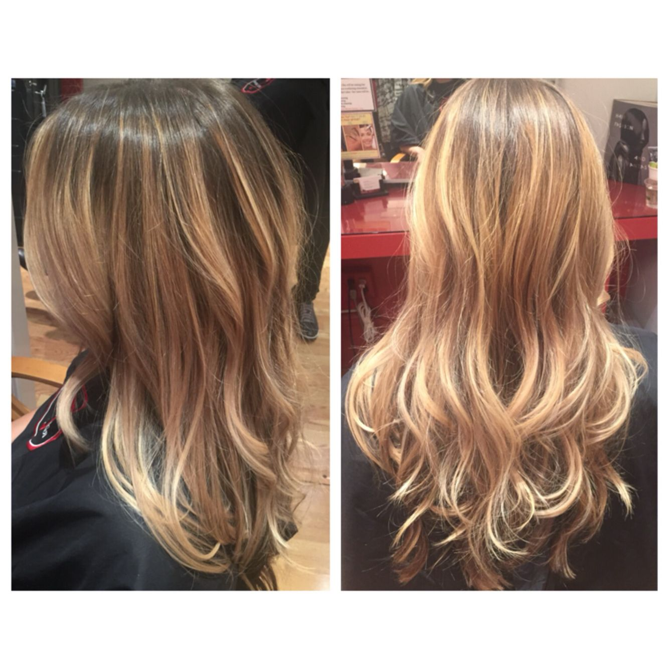 Balayage Hair Painting Subtle Ombr Hair Color Cut By Natalie