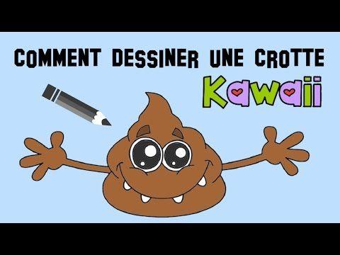 Comment Dessiner Une Crotte Kawaii Youtube Tuto Dessin Youtube