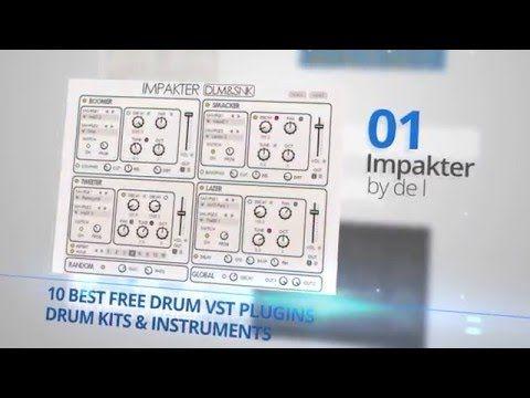 10 Best Free Drum VST Plugins Virtual Instruments | Music