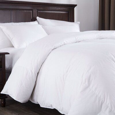 Alwyn Home All Season Down Comforter | Wayfair #downcomforter