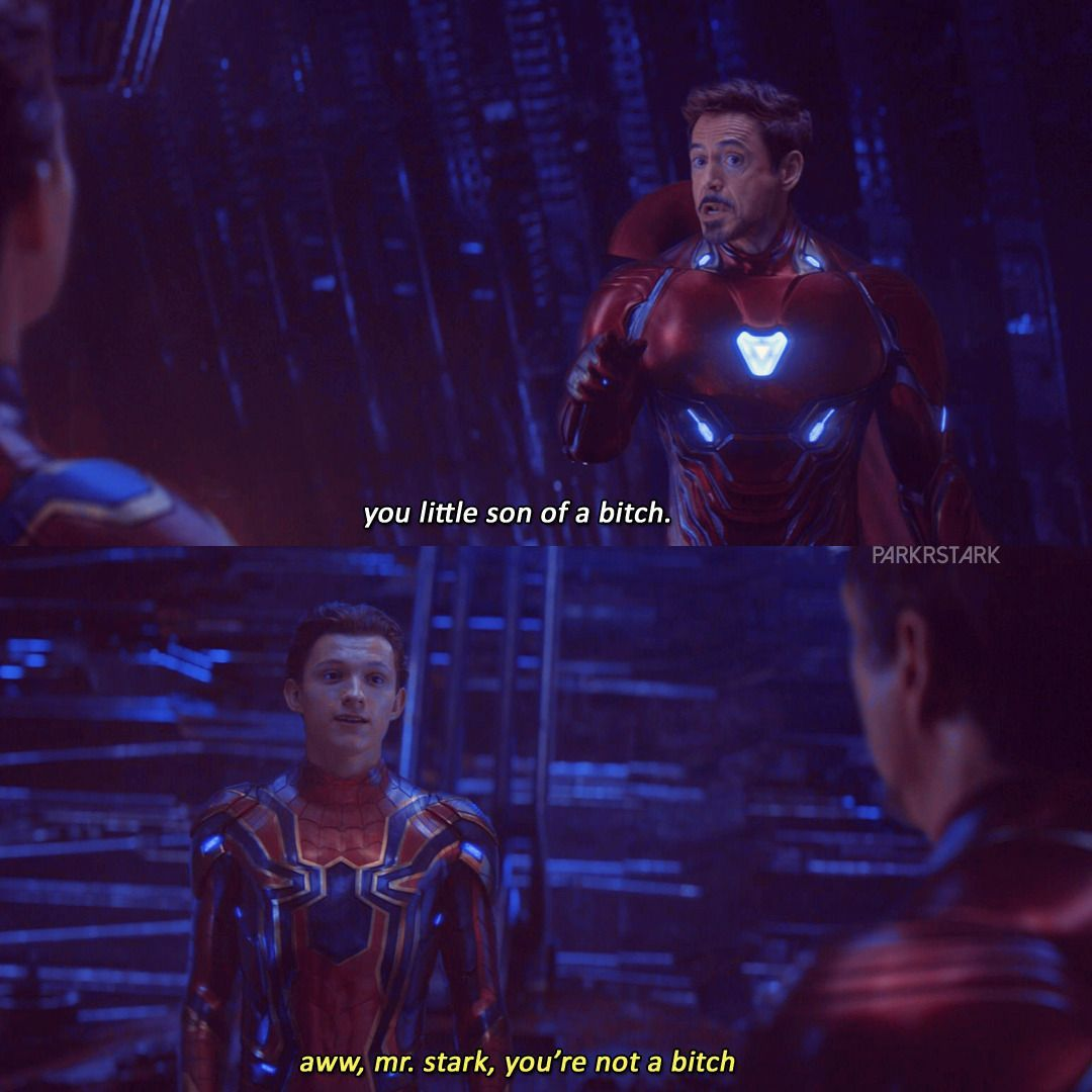 peter parker tony stark | Tumblr