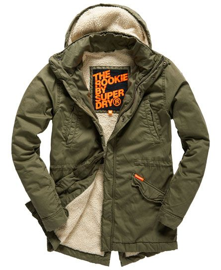 1fd0ceec2db54 Superdry Rookie Military Parka Superdry Jacket Men, Vest Jacket, Military  Parka, Military Style