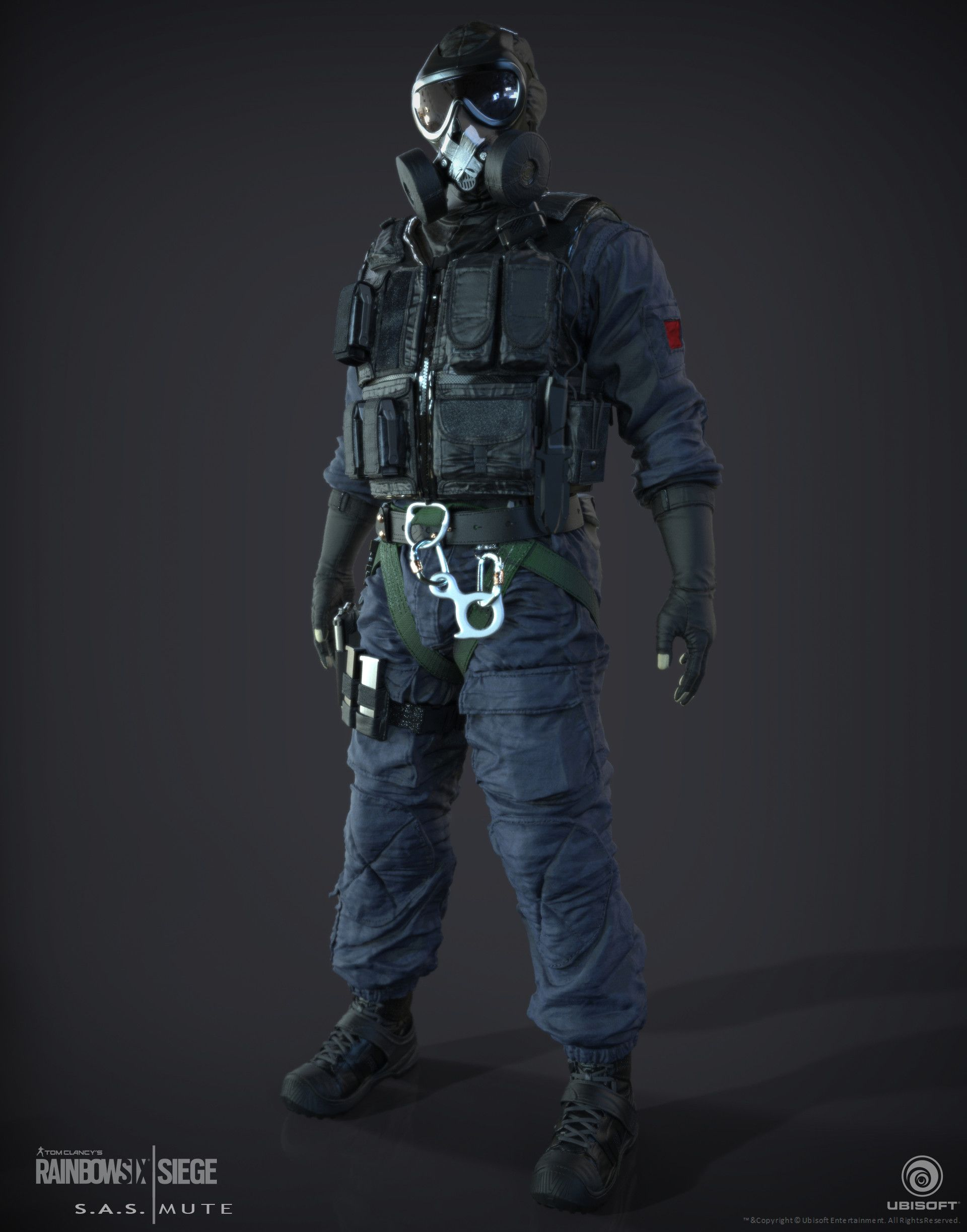 The First Ctu Operator I Created For Rainbow 6 Siege With Images
