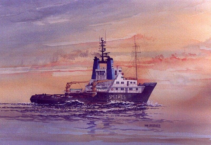 remolcador Smit Rotterdam