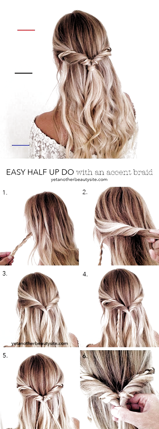 15 Easy Prom Hairstyles For Long Hair You Can Diy At Home Detailed Hairstyles Diy Long Hair Boh Medium Length Hair Styles Medium Hair Styles Simple Prom Hair