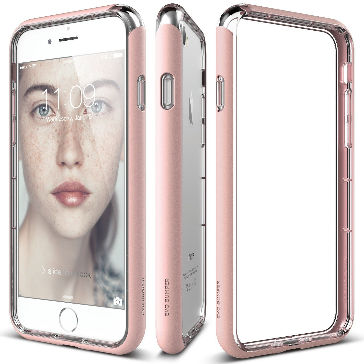 Elago Iphone 8 Iphone 7 Case Evo Bumper Lovely Pink Superior Edge Protection Dual Layering Durable Hardshell Iphone Iphone 7 Cases Iphone Cases
