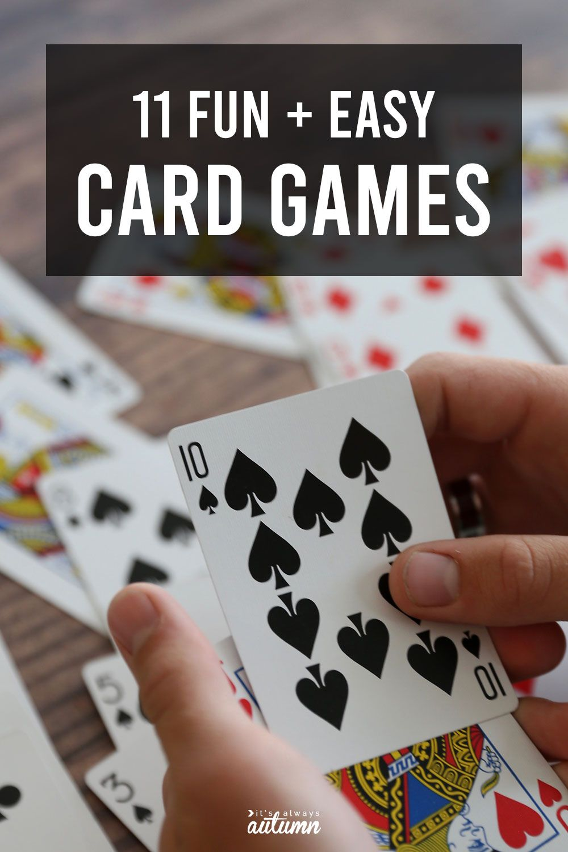 Fun Family Card Games 2020