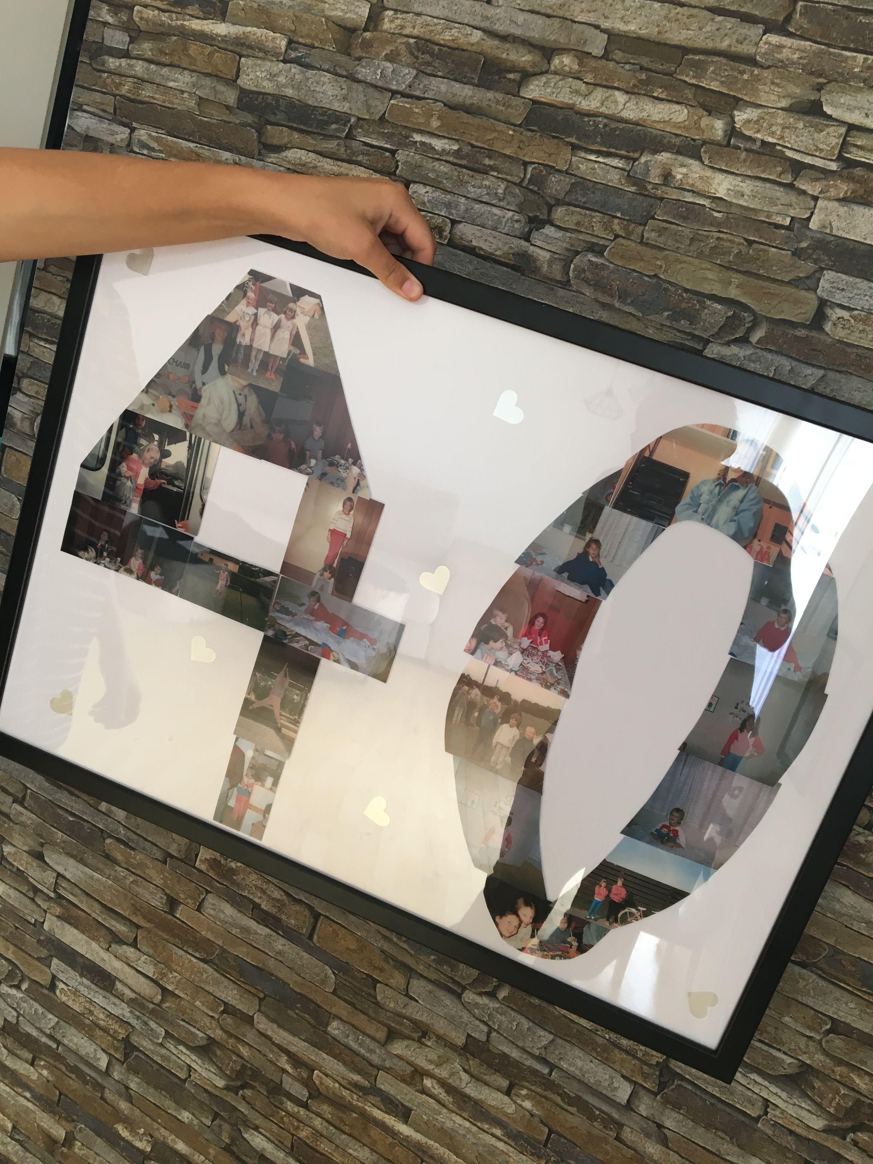 40 års fødselsdag gaveide | Prosjekter, Bursdag