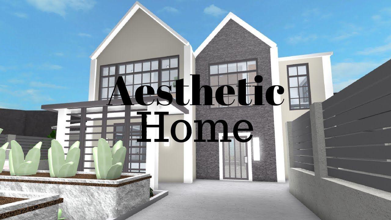 Roblox Welcome To Bloxburg Aesthetic Home Youtube Casas