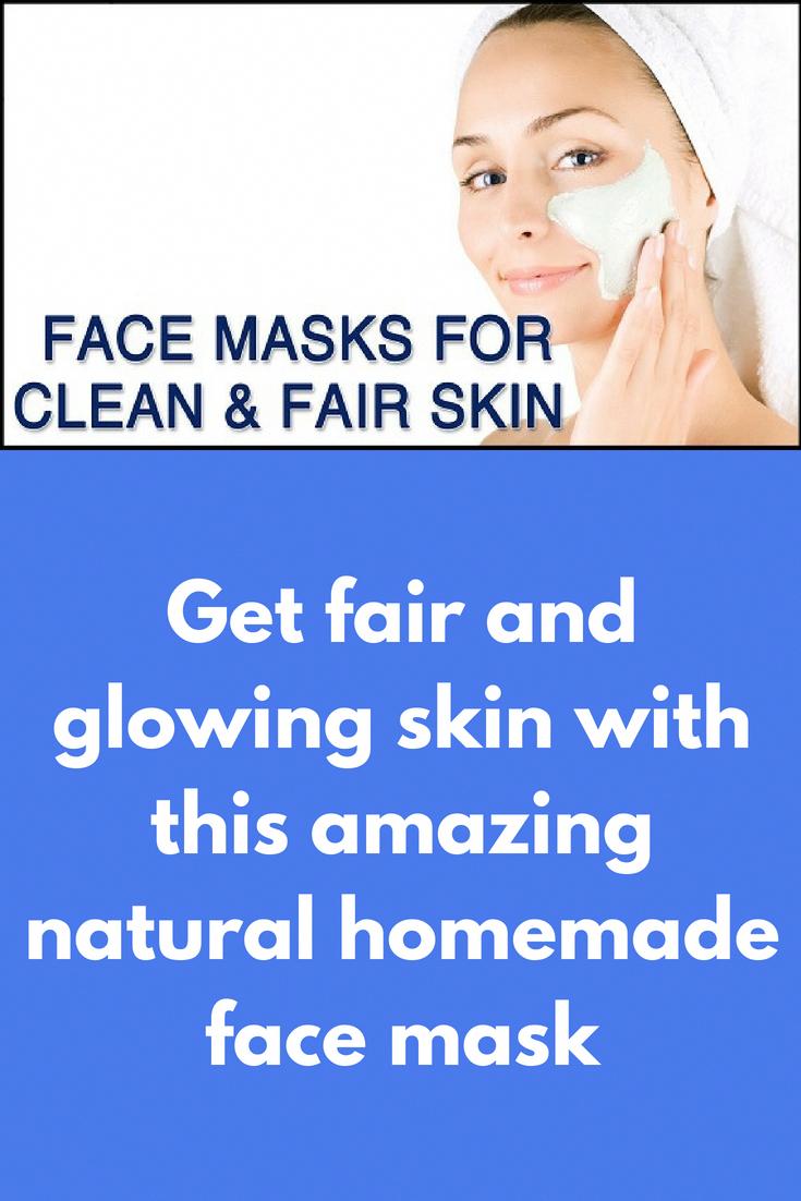 homemade mask for fair skin